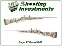 Ruger 77 Mark II Hawkeye Stainless Camo 30-06