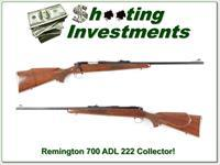 Remington 700 222 Remington Pressed Checkering collector!