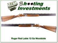 Ruger Red Label 12 Ga RARE English stock Woodside!