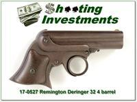 Remington Elliot Derringer 4 barrel .32