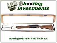 Browning BAR Safari II in 300 Win Mag in box