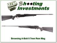 Browning A-Bolt II Stalker in 7mm Rem w BOSS