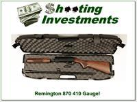 Remington 870 Wingmaster hard to find 410!