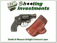 Smith & Wesson Airweight 38 Special Crimson Trace