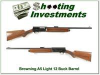 Browning A5 Light 12 with 24in rifled barrel!