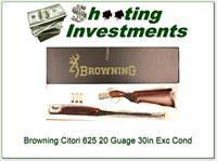 Browning Citori 625 Sporting 20 Gauge 30in in box!
