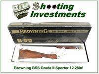 Browning BSS Grade II Sporter 28in in BOX!