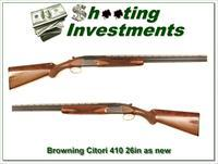 Browning Citori near new 410 26in IC and Mod!