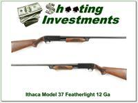 Ithaca Model 37 Featherlight 12 Ga Exc Cond!