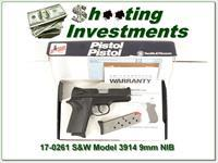 Smith & Wesson Model 3914 9mm NIB!