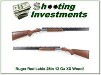 Ruger Red Label Red Pad 28in XXX WOOD!