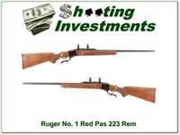 Ruger No. 1 early Red Pad in the hard to find 223 Remington near new!