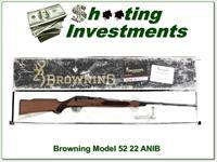 Browning Model 52 22 Rimfire ANIB!