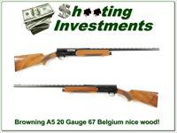 Browning A5 20 Gauge 67 Belgium Blond!