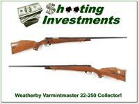 Weatherby Mark V Varmintmaster 22-250 26in Collector!