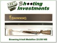 Browning A-bolt II Medallion 22-250 Rem last ones!