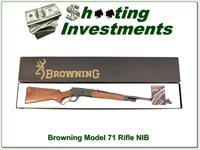 Browning Model 71 348 Win 22in Rifle NIB!