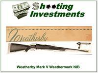 Weatherby Mark V 375 H&H Magnum Unfired!