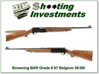 Browning BAR Grade II first year 67 Belgium 30-06