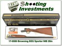 Browning BSS Sporter 20 Ga unfired in box!