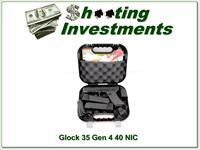 Glock 35 Gen 4 40 new & unfired in case