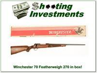 Winchester Model 70 Featherweight in box!