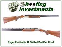 Ruger Red Label Red Pad 26in Exc Cond!