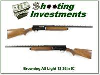 Browning A5 Light 12 72 Belgium 26in IC VR!