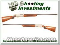 Browning Double Auto pre-1958 Belgium Silver