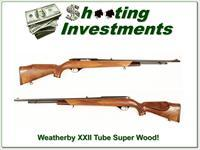 Weatherby XXII Tube Exceptional Wood near new!