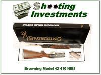 Browning Model 42 High Grade unfired in box!