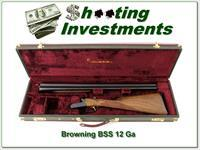 Browning BSS Sporter 12 Ga like new in case