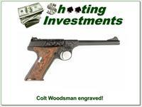 Colt Woodsman 1923 Engraved Exc Cond!