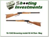 Browning Model 92 44 Remington Mag