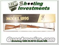 Browning 1895 30-40 Krag Grade 1 and 6 set Same Serial numbers