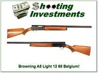 Browning A5 Light 12 68 Belgium 26in IC VR