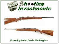 Browning Safari Grade 63 Belgium 264 Win