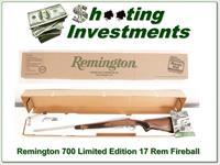 Remington Model 700 CDL SF Limited Edition 17 Fireball