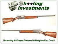 Browning A5 Sweet Sixteen 56 Belgium Exc Cond!