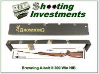 Browning A-Bolt II 300 Medallion ANIB 26in!