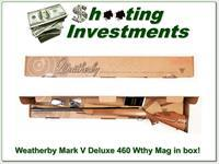 Weatherby Mark V Deluxe 460 Wthy Mag NNIB!