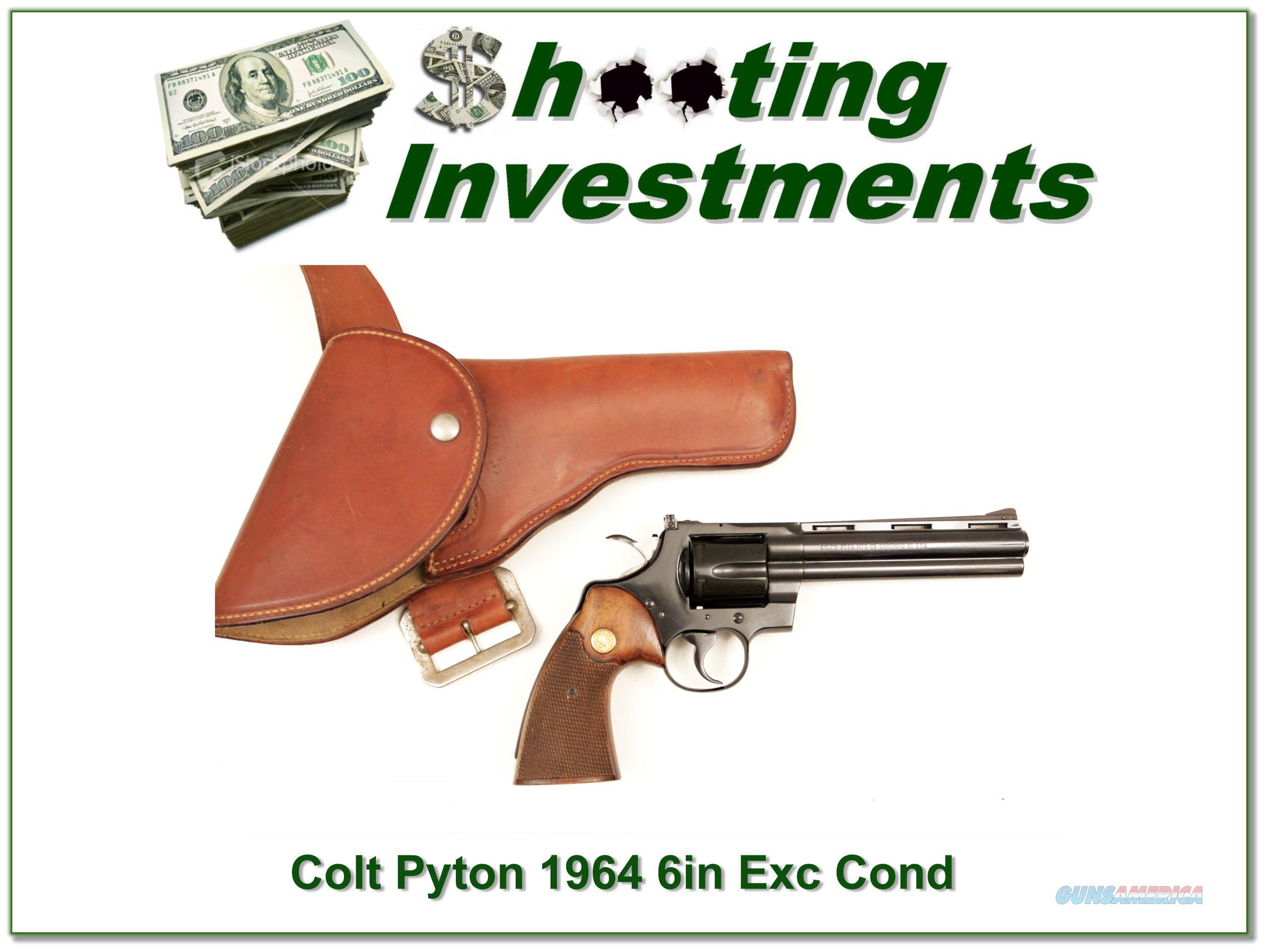 1964 Colt Python 6in near new