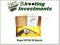 Ruger GP-100 4in Stainless early 38 Special as new in box!