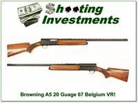 Browning A5 Magnum 20 71 Belgium 28in VR Mod