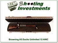 Browning A5 12 Gauge Ducks Unlimited ANIC