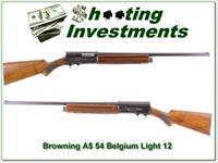 Browning A5 Light 12 54 Belgium 26in IC
