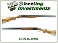 Beretta BL-4 20 Gauge 28in barrels Full and Mod Exc Cond!