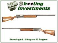 Browning A5 12 Magnum 67 Belgium 30in VR