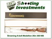 Browning A-bolt II Medallion 308 Win last ones!