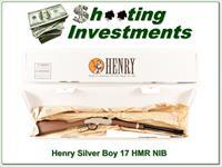 Henry Silver Boy hard to find 17 HMR NIB!
